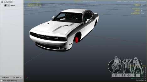 2015 Dodge Challenger para GTA 5