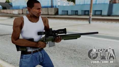 No More Room in Hell - JAE-700 para GTA San Andreas terceira tela