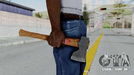 GTA 5 Hatchet - Misterix 4 Weapons para GTA San Andreas terceira tela