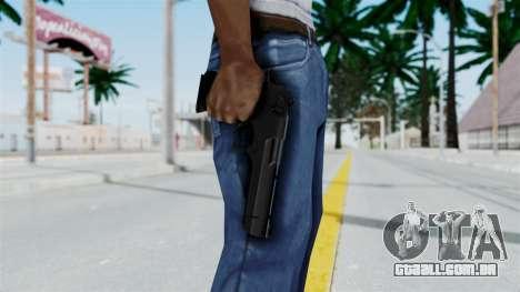 Pouxs Desert Eagle v2 Black para GTA San Andreas terceira tela