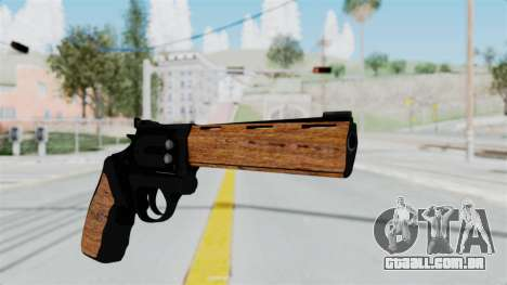 Wood Revolver para GTA San Andreas segunda tela