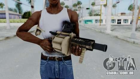 Arma OA Grenade Launcher para GTA San Andreas terceira tela