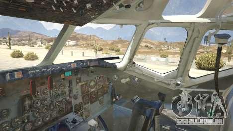 GTA 5 McDonnell Douglas DC-9-15 quinta imagem de tela