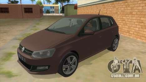 Volkswagen Polo 6R 1.4 para GTA San Andreas