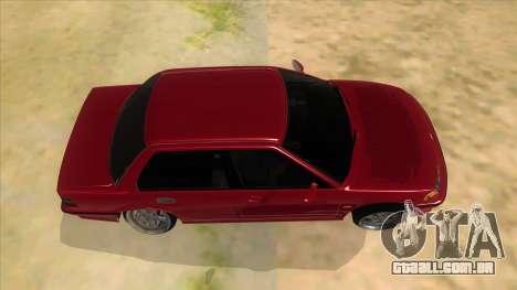 Honda Civic Ef Sedan para GTA San Andreas vista interior
