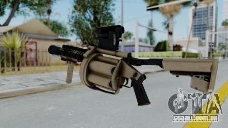 Arma OA Grenade Launcher para GTA San Andreas segunda tela