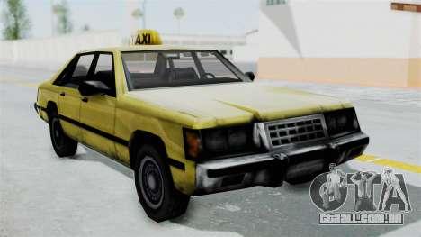 Taxi from GTA Vice City para GTA San Andreas traseira esquerda vista
