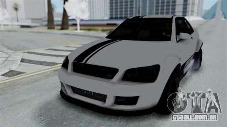 GTA 5 Karin Sultan RS Stock PJ para vista lateral GTA San Andreas