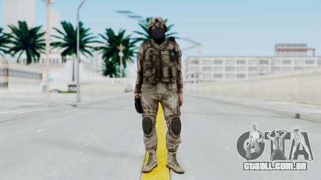 Crysis 2 US Soldier 7 Bodygroup A para GTA San Andreas segunda tela