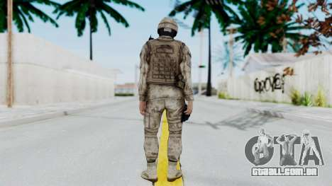 Crysis 2 US Soldier 7 Bodygroup A para GTA San Andreas terceira tela