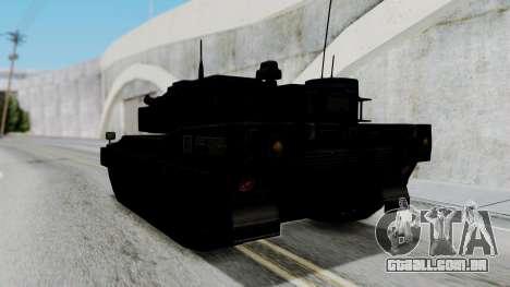 Point Blank Black Panther Woodland para GTA San Andreas vista direita