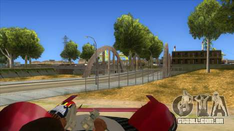 StarWars Anakin Podracer para GTA San Andreas vista interior