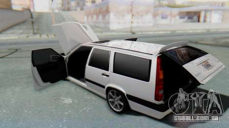 Volvo 850R 1997 Tunable para GTA San Andreas vista superior