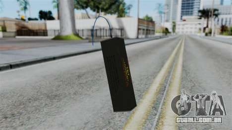 No More Room in Hell - TNT para GTA San Andreas