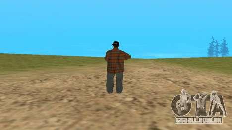 Skin FAM3 para GTA San Andreas segunda tela