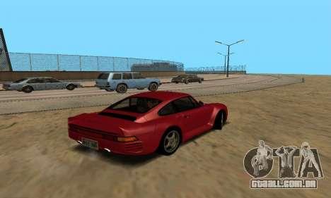 Porsche 959 para GTA San Andreas esquerda vista