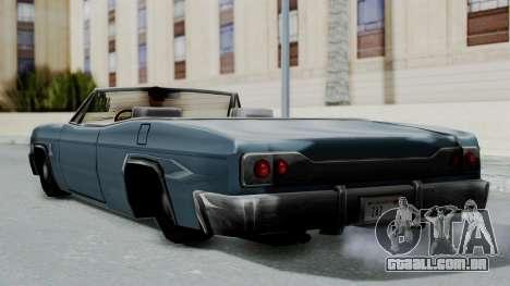 Blade Beach Bug para GTA San Andreas vista direita