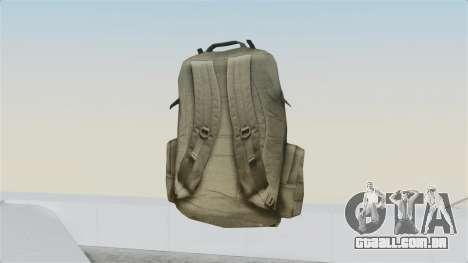 Arma 2 Coyote Backpack para GTA San Andreas segunda tela