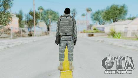 Acu Soldier 6 para GTA San Andreas terceira tela