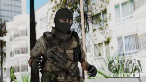 Crysis 2 US Soldier 8 Bodygroup B para GTA San Andreas