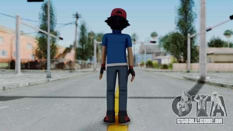 Pokémon XY Série - Cinzas para GTA San Andreas terceira tela