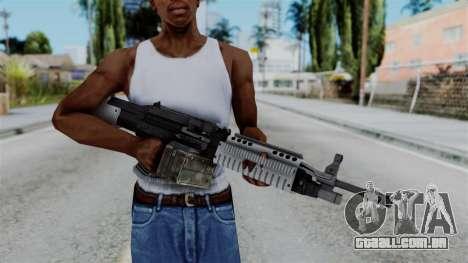 GTA 5 Combat MG - Misterix 4 Weapons para GTA San Andreas terceira tela