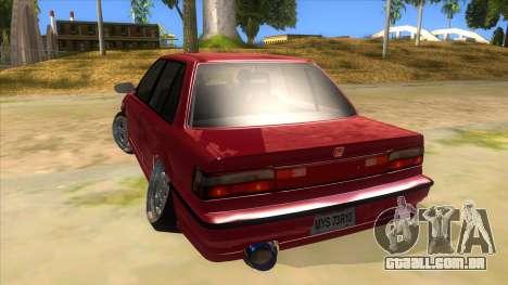Honda Civic Ef Sedan para GTA San Andreas traseira esquerda vista