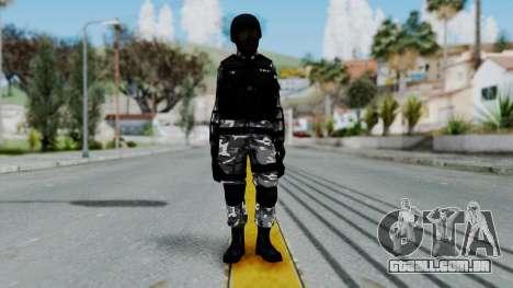 S.W.A.T v1 para GTA San Andreas segunda tela