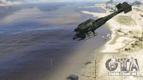 GTA 5 AT-99 Scorpion sexta imagem de tela