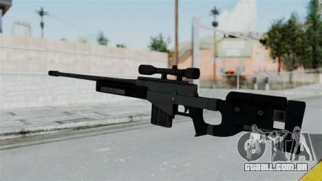 GTA 5 Sniper Rifle para GTA San Andreas segunda tela