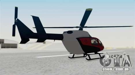 GTA 5 Super Volito Carbon para GTA San Andreas esquerda vista