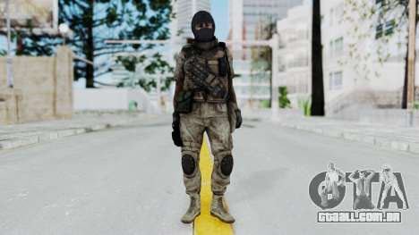 Crysis 2 US Soldier 8 Bodygroup B para GTA San Andreas segunda tela