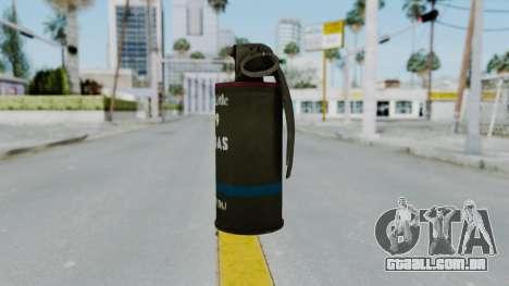GTA 5 Tear Gas para GTA San Andreas segunda tela