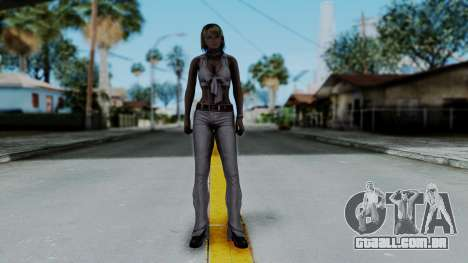 Resident Evil 4 Ultimate HD - Ashley Leather para GTA San Andreas segunda tela