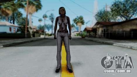 Resident Evil 4 Ultimate HD - Ashley Leather para GTA San Andreas segunda tela