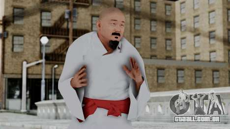 WWE Mr Fuji para GTA San Andreas