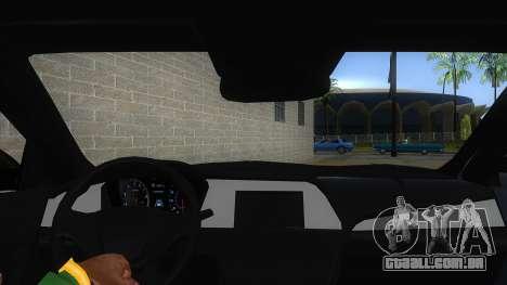 Iranian Hyundai Sonata Turbo para GTA San Andreas vista interior