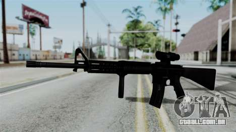 No More Room in Hell - M16A4 ACOG para GTA San Andreas segunda tela