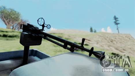 GTA 5 Karin Technical Machinegun IVF para GTA San Andreas vista direita