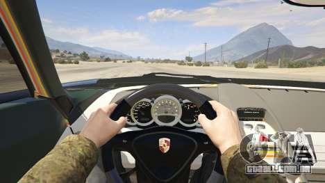 GTA 5 Porsche Carrera GT voltar vista