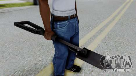 No More Room in Hell - Entrenchment Tool para GTA San Andreas terceira tela