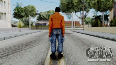 CS 1.6 Hostage 01 para GTA San Andreas terceira tela