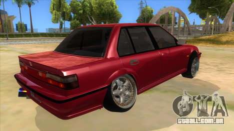 Honda Civic Ef Sedan para GTA San Andreas vista direita