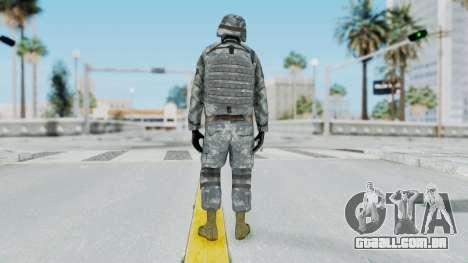 Acu Soldier Balaclava v4 para GTA San Andreas terceira tela