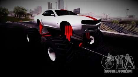 GTA 5 Bravado Gauntlet Monster Truck para GTA San Andreas