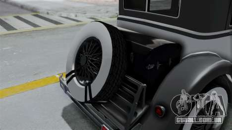 GTA 5 Albany Roosevelt Valor para GTA San Andreas vista traseira