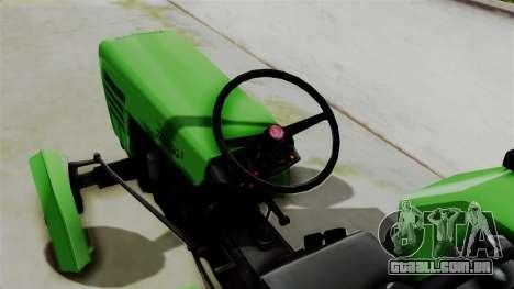 Torpedo Traktor para GTA San Andreas traseira esquerda vista