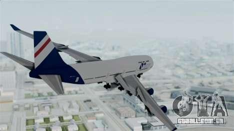 GTA 5 Jumbo Jet v1.0 Air Herler para GTA San Andreas vista direita