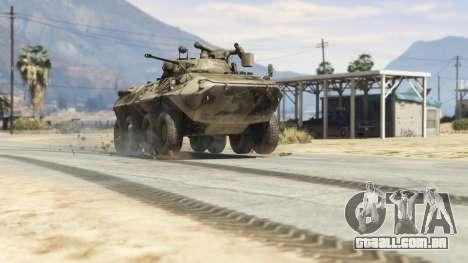BTR-90 Rostok para GTA 5