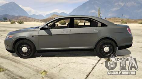 GTA 5 Ford Taurus vista lateral esquerda